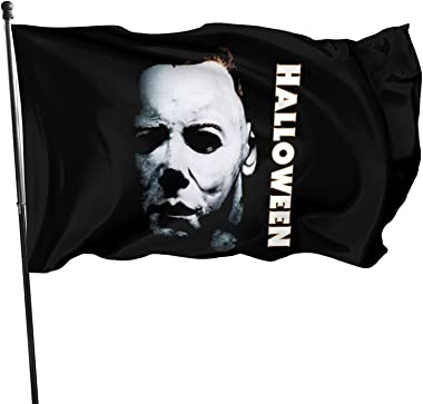Cejburw Horror Movie Halloween Garden Flag Outdoor, Durable House Flags 3 x 5 Ft