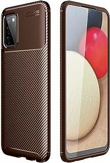 جراب Doao Realme C21Y، غطاء رفيع من السيليكون الناعم المقاوم للصدمات متوافق مع ، غطاء لوحة ناعمة متينة لـ Realme C21Y-brown