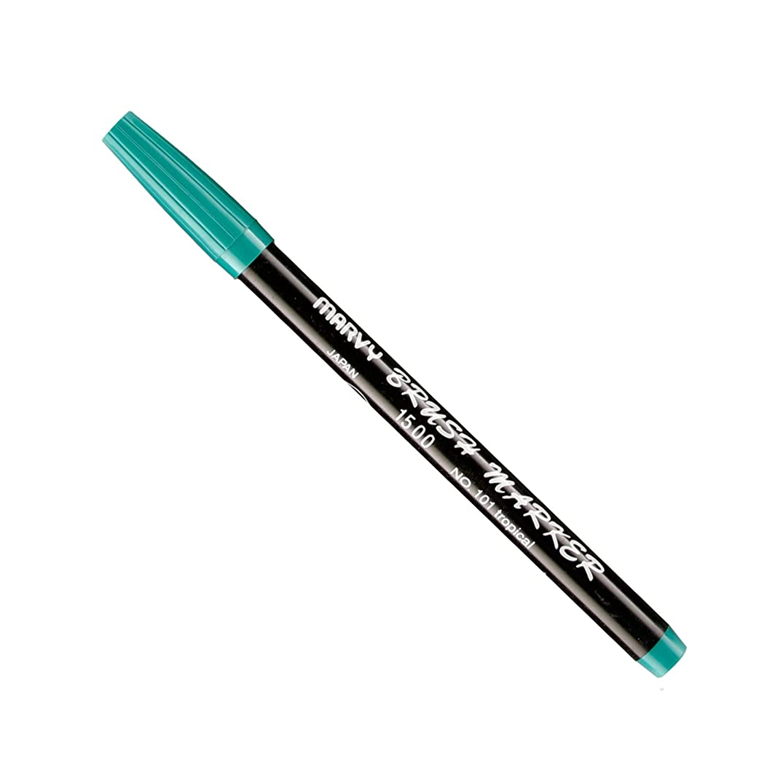 Uchida Of America 1500-C-101 Brush Marker, Tropical