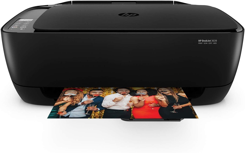 HP Deskjet 3639 Wireless All-in-One Printer (K4T98A) (Renewed)