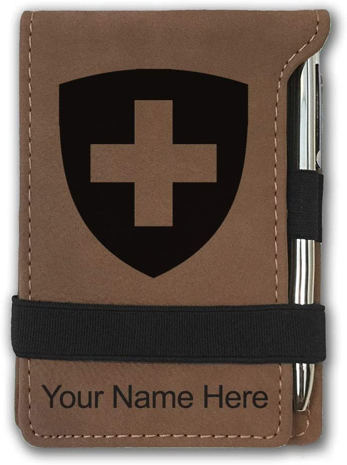 Mini Notepad Coat of Tucson Mall Arms Max 66% OFF Engraving Personalized I Switzerland