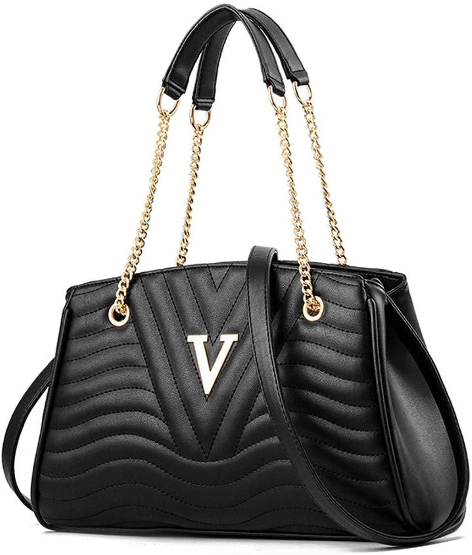 Mueka Damen Tasche,V-förmiger Einfacher Einfacher Einfacher Kettenbeutel,Stilvoller Und Eleganter Stil B07KMRCFVR  Zuverlässiger Ruf a6ed9f