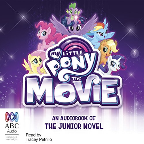 My Little Pony: The Movie audiobook cover art