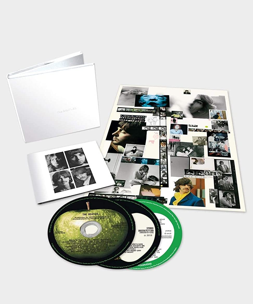 コントロール包囲大人THE BEATLES INCHTHE WHITE ALBUMINCH (DELUXE EDITION) [3CD] (50TH ANNIVERSARY)