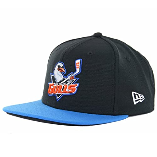 New Era 9Fifty San Diego Gulls Snapback Hat (Black Blue) AHL Hockey Ducks c1967b286fa9