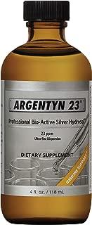 Argentyn 23® Professional Formula Bio-Active Silver Hydrosol for Immune Support* – 4 oz. (118 mL) Twist Top Bottle – Col