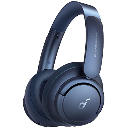 Soundcore by Anker Life Q35 Multi Mode Active Noise Cancelling Headphones, Bluetooth Headphones with LDAC for Hi Res Wireless Audio, 40H Playtime, Comfortable Fit, Clear Calls (Obsidian Blue)