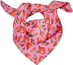 Bimba Printed Pure Silk Scarf For Hair Neck Head Bandanas For Women