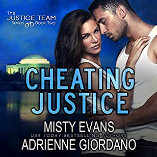 Cheating Justice audiobook cover art
