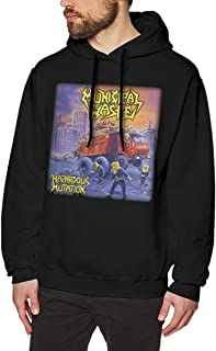 Municipal-Waste Funny Mens Sweater Hooded Sweatshirt Black