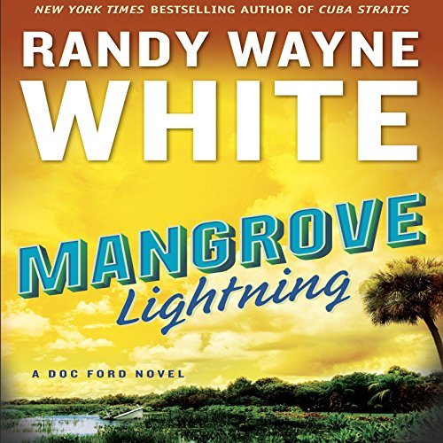 Mangrove Lightning audiobook cover art