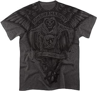 Vikkk Los Hijos de la anarquía temen al segador por Todo Heather Camiseta y Pegatinas