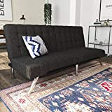 Best Futon Sofas - DHP Emily Futon Couch Bed, Modern Sofa Design Review