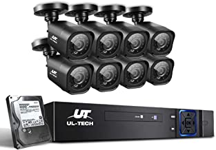 UL-TECH CCTV Camera Security System 8CH DVR 1080P 1TB Hard Drive Outdoor