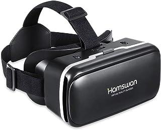 REDSTORM Casque Réalité Virtuelle, Lunette 3D VR, Vue Panoramique en 3D, Qualité d'image HD, Casque VR 3D Compatible avec ...