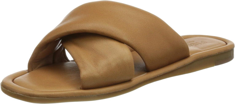 PIECES Psaudrey Leather Sandal, Donna