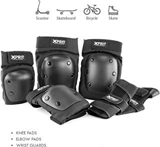 AceList Kids//Youth 6-12 Years Sports Honeycomb Compression Knee Pad Elbow Pads Guards Protective Gear for Basketball Cycling Wrestling Baseball Volleyball Football