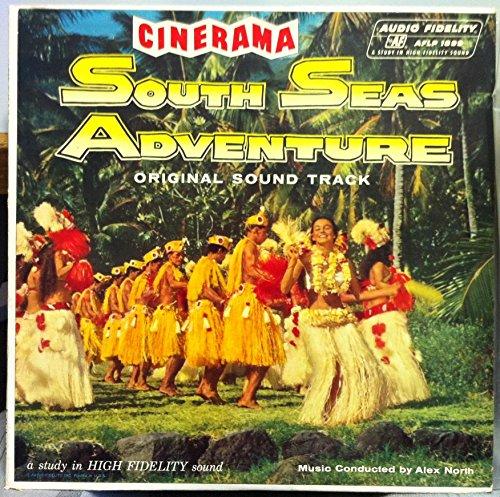ALEX NORTH SOUNDTRACK SOUTH SEAS ADVENTURE vinyl record
