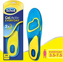 Scholl Gel Insoles for Men for Everyday, One Pair, Men's UK Shoe Size 7-12