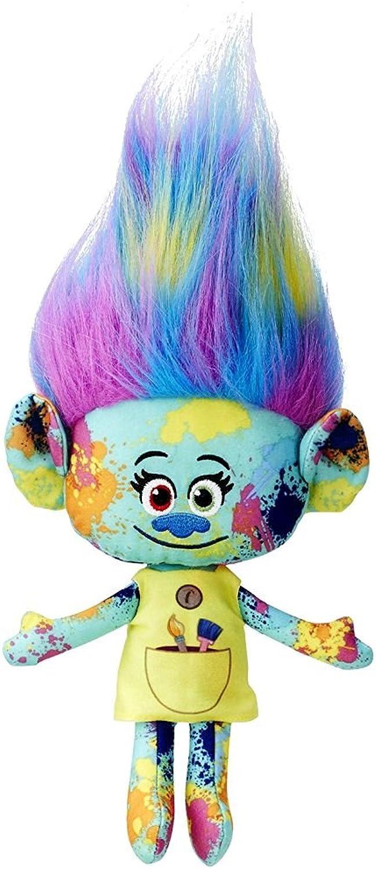 últimos estilos DreamWorks Trolls - Selección Figura de Peluche Softwool 25 cm, cm, cm, Trolls Figuran Harper - Pinsel  apresurado a ver