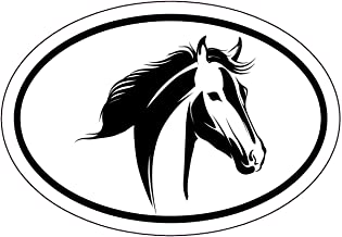 HORSE LOVERS STICKER WINDOW FLOAT CUSTOM DECAL SADDLE RIDING EQUESTRIAN TEAL