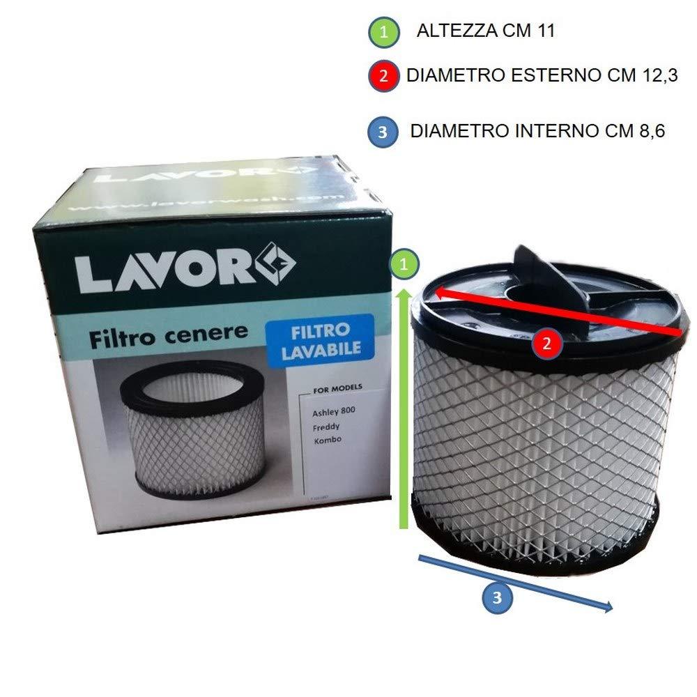 Repuesto tubo + filtro aspirador de cenizas Lavor Ashley 800 ...