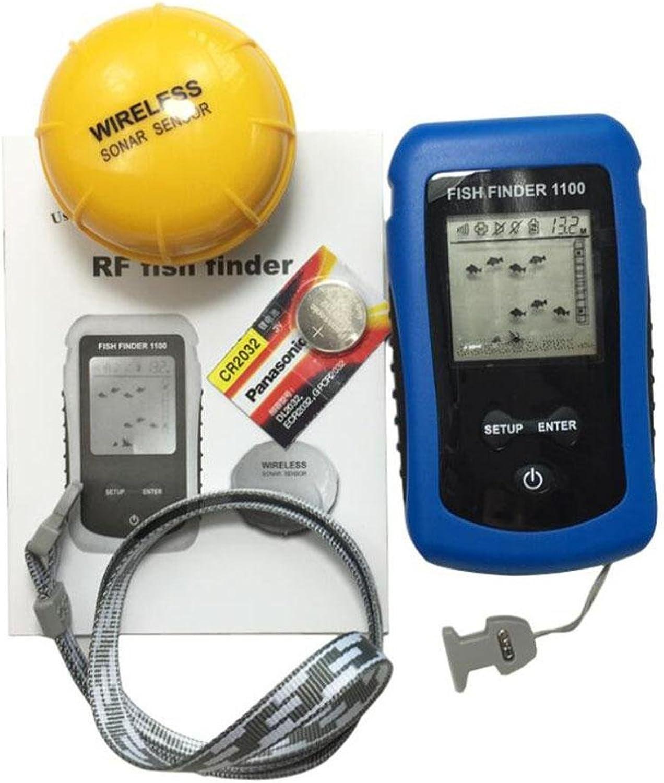 WYXIN Fisch Finders Alarm Portable Fishing Sonar Sensor Verdrahtete LCD Tiefe Finder Echolot
