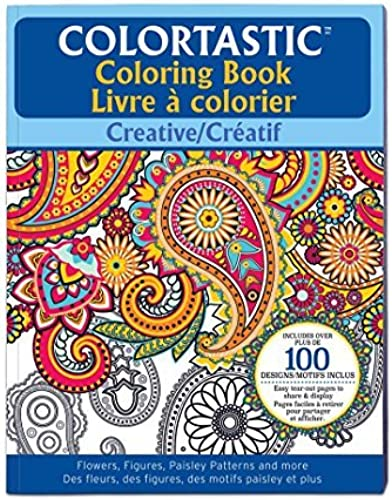 tomar hasta un 70% de descuento EMSON DIV. OF E. E. E. MISHON Colortastic Creative Coloring Book for Grown Ups by EMSON DIV. OF E. MISHON  grandes ofertas