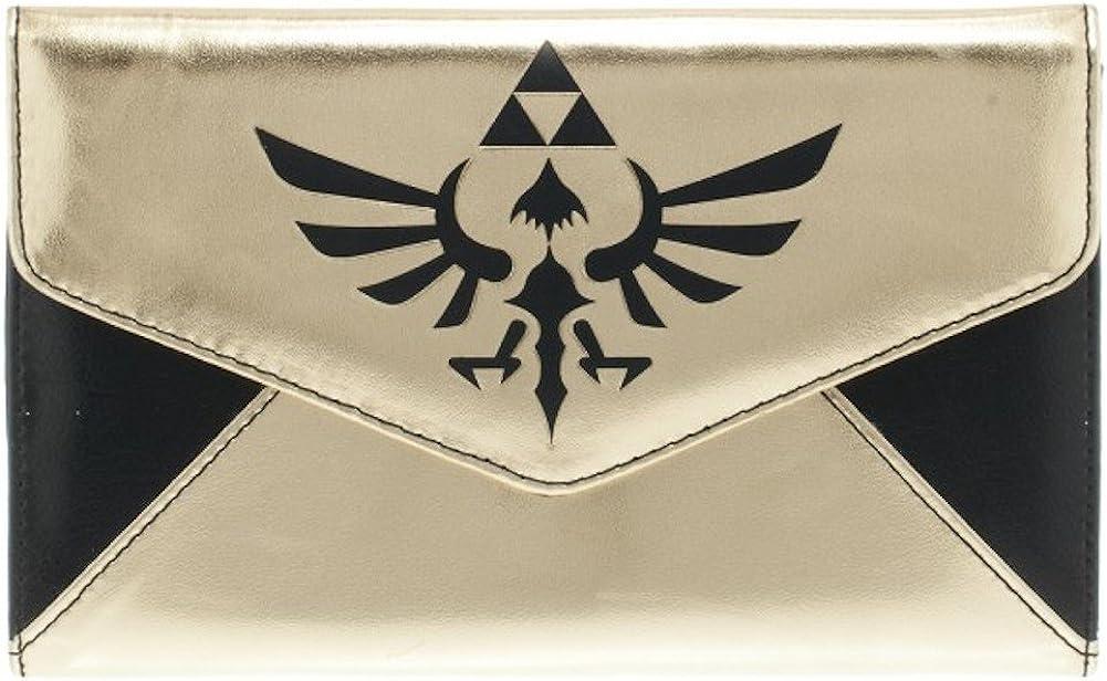 Legend of Zelda Triforce Logo Envelope Wallet