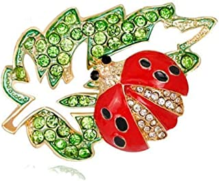 Ladybug Beetle Accessories Brooch Pin Party Gift Women Brooch (m)