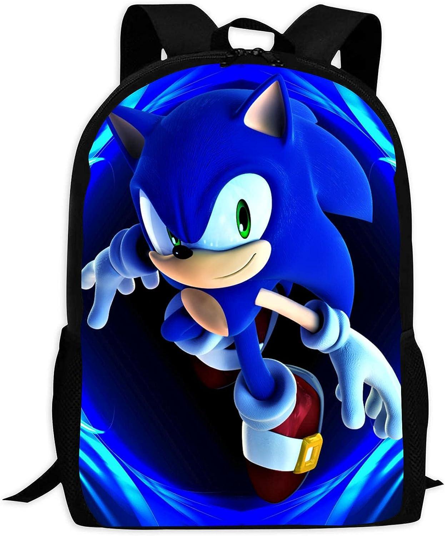 Sonic Backpacks School Bag Elementary Backpack New Financial sales sale product Bookbag fo