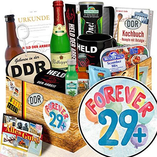 Forever 29 + + Geschenk für einen 30. Geburtstag + Geschenkbox Männer
