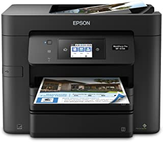 Epson WorkForce Pro WF-4734 All-in-One Printer:4-in-1 with Wi-Fi: Print/Copy/Scan/Fax
