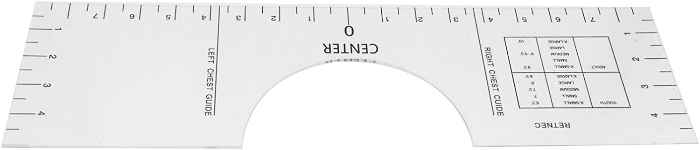 T-Shirt Ruler Guide T-Shirt Ruler Guide for Vinyl Shirt Alignment Guide Tool for Applying Vinyl Sublimation Designs Shirt L Tshirt Alignment Tool
