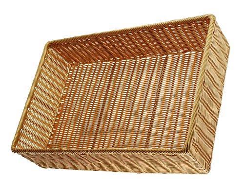 FRANK FLECHTWAREN Auslagekorb Poly in den Maßen 60 x 40 x 15 cm