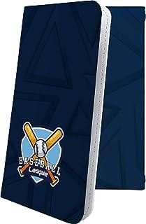 スマートフォンケース・Xperia Z4 SOV31・互換 ケース 手帳型 個性 野球 リーグ リーグマッチ ベースボール エクスペリア かっこいい XperiaZ4 男性 men [fzL26160T8H]