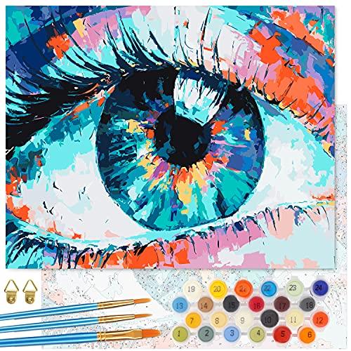 Cuadros Para Pintar Por Numeros Adultos Famosos cuadros para pintar por numeros  Marca Emooqi