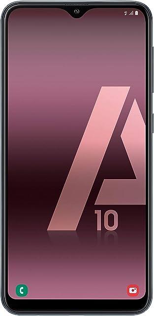 Samsung Galaxy A10 - Smartphone de 6.2 HD Infinity (32 GB Dual-SIM 3400 mAh) Color Negro [Versión española]