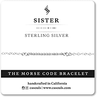 Best morse code sister bracelet Reviews