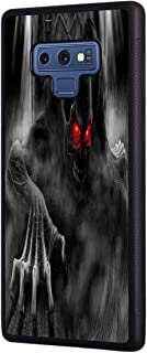 Galaxy Note 9 Case, Slim Anti-Scratch Shockproof Rubber Protective Cover for Samsung Galaxy Note 9,Hell Death