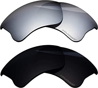 Polarized Replacement Lenses for Oakley Flak Jacket XLJ - 2 Pairs
