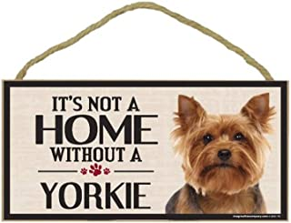 Imagine This Wood Sign for Yorkie Dog Breeds