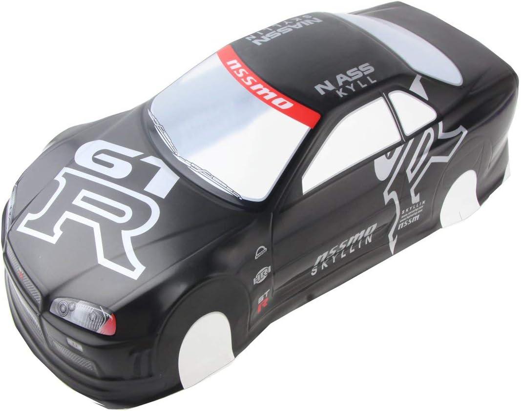 Coolplay 1/10 PVC Car Body Shell RC Racing Car Accessories GTR-