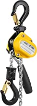 Mophorn 0.75T 1650LBS Lever Block Chain Hoist 1.5M 5FT Mini Manual Chain Hoist Alloy Steel G80 Chain Ratchet Lever Hoist with Hook