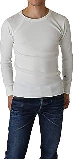 Champion チャンピオン Long Sleeve Thermal サーマル 長袖 Tシャツ ワッフル 無地 Cロゴ C3-E430