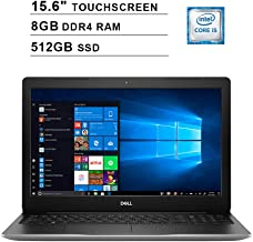 2019 Newest Dell Inspiron 15 3593 15.6 Inch Touchscreen FHD Laptop (10th Gen Inter 4-Core i5-1035G1 up to 3.6GHz, 8GB DDR4 RAM, 512GB SSD, Intel UHD Graphics 620, Windows 10, Silver)