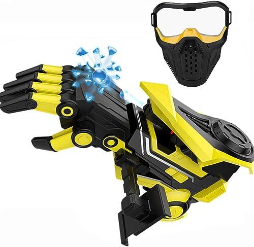 RDJM Wasserpistole für Kinder und Erwachsene, 3D-Roboter-Hand-Soft Bullet Water Gun, für Fun Outdoor Game und Kinder sicher Spielen