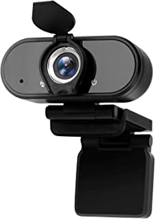 Webcam with Microphone,1080p HD Webcam Streaming Computer Web Camera USB Cable for PC Laptop Desktop Video Calling,Confere...
