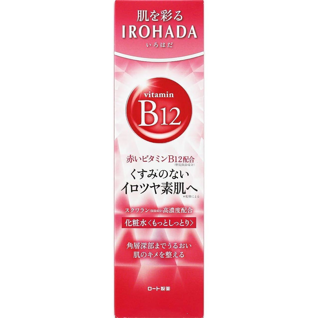 コンソール解読する歩道ロート製薬 いろはだ (IROHADA) 赤いビタミンB12×スクワラン配合 化粧水もっとしっとり 160ml