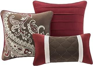 Madison Park Talbot 7 Piece Comforter Set Size: Queen, Red